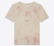 """""""Saint Laurent Rive Gauche"""" Tie-Dye-T-Shirt"""