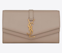 Sulpice large wallet in smooth leather