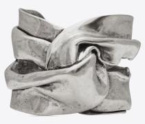 DRAPEE Armreif aus silberfarbenem Metall