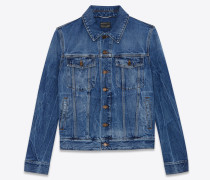 SHADOW DEEP DARK BLUE denim jacket