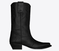 LUKAS boots in lizard-look leather