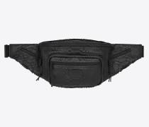 NUXX Bodybag aus gebürstetem Pythonleder