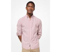 Slim-Fit-Hemd aus Seersucker-Baumwolle