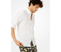 Slim-Fit-Hemd aus Leinen