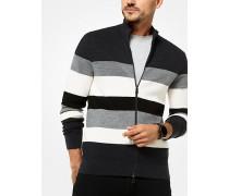 Gestreifter Sweater aus Merinowolle