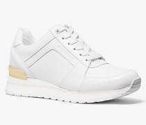 MK Sneaker Billie Aus Leder - Optic White(Weiss) - Michael Kors