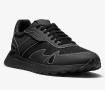 MK Sneaker Miles Aus Mesh Und Leder - Schwarz(Schwarz) - Michael Kors