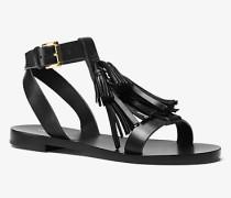 Sandale Steffi aus Leder mit Quasten