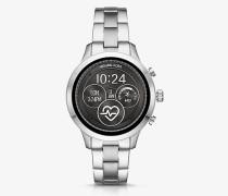 Smartwatch Runway im Silberton