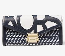 Brieftasche Whitney Large mit Grafischem Logomuster und Kette