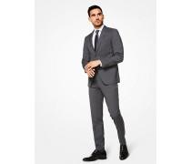 Slim-Fit-Anzug aus Twill