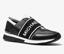 Sneaker Mk aus Mesh und Leder