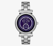 Smartwatch Sofie im Silberton