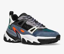 Sneaker Penn aus Materialmix