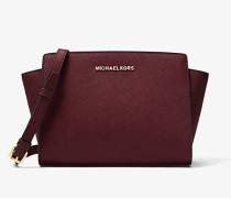 Messenger-Tasche Selma Medium aus Saffianleder