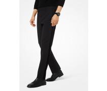 Slim-Fit-Hose aus Baumwollmischgewebe