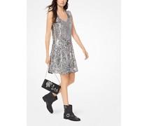 Slip-Kleid mit Pailletten