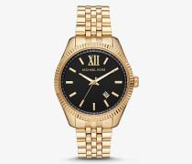 MK Übergroße Armbanduhr Lexington Im Goldton - Zweifarbig(Silberton) - Michael Kors