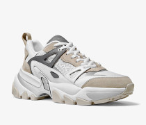 Sneaker Penn aus Leder Wildleder und Mesh
