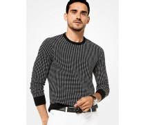 Pullover aus Baumwolle mit Grafischem Quadratmuster