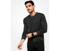 Pullover aus Wolle mit Grafik