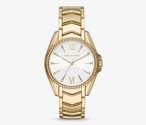 Armbanduhr Whitney im Goldton