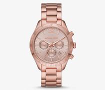 Übergroße Armbanduhr Layton Im Blassen Rose-Goldton