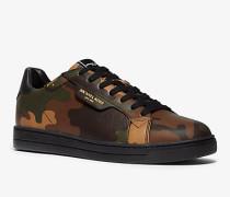 Sneaker Keating aus Leder mit Camouflagemuster