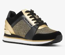 Sneaker Billie aus Mesh im Kettendesign und Leder