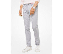 Slim-Fit-Chino aus Stretch-Twill