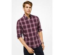Slim-Fit-Hemd aus Baumwolle mit Karomuster