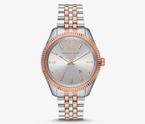 MK Übergroße Zweifarbige Armbanduhr Lexington - Zweifarbig(Silberton) - Michael Kors