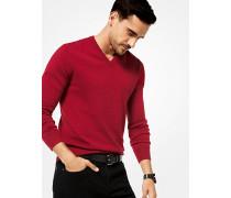 Pullover aus Kaschmir mit V-Ausschnitt