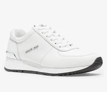 MK Sneaker Allie Aus Leder - Optic White(Weiss) - Michael Kors