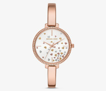 Armbanduhr Jaryn in Rose-Goldton