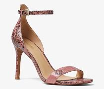 Sandale Harper aus Schlangenleder