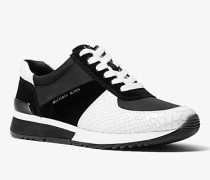 Sneaker Allie aus Materialmix