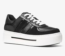 Plateau-Sneaker Camden aus Leder und Segeltuch
