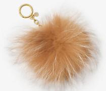Schlüsselanhänger aus Pelz