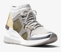 Sneaker Hilda aus Textil und Mesh im Kettendesign mit Glitzer