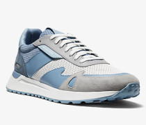 MK Sneaker Miles Aus Materialmix - Chambray(Blau) - Michael Kors
