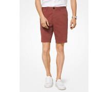 Slim-Fit-Shorts aus Baumwoll-Twill
