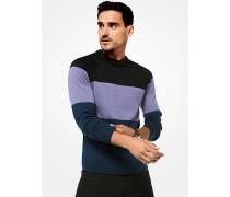 Pullover aus Merinowolle in Blockfarben