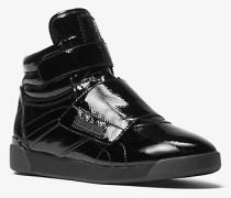 Hi-Top-Sneaker Addie aus Lackleder