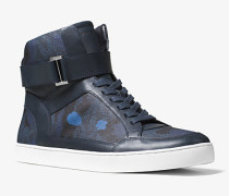 Knöchelhoher Sneaker Anthony mit Tarnmuster