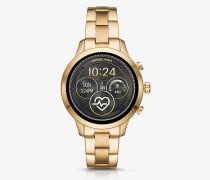 Smartwatch Runway im Goldton