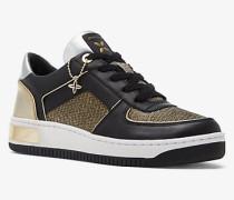 Sneaker Jaden aus Leder und Mesh im Kettendesign