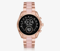 Smartwatch Gen5 Bradshaw Im Rose-Goldton Mit Azetatdetails