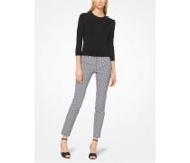 Hose aus Stretch-Baumwolle mit Vichykaro