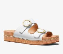 Sandale Estelle aus Leder und Kork
